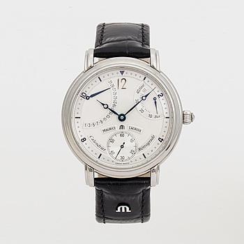MAURICE LACROIX, Masterpiece, Calendrier Rétrograde, armbandsur, 43,5 mm,