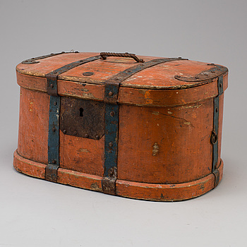 a wooden box from Jämtland 18th-19th century.