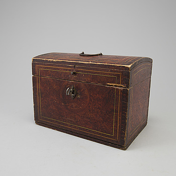 a wooden box from Jämtland in the 19th century.