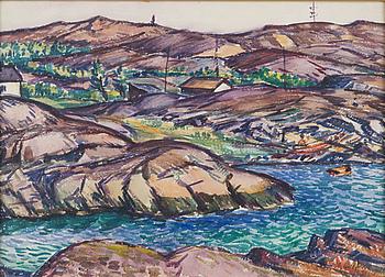 ANTON LINDFORSS, akvarell, signerad och daterad -31.