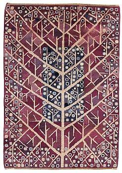 "203. Barbro Nilsson, A CARPET, ""Katarina/Livets träd"", knotted pile, ca 224 x 157 cm, signed AB MMF BN."