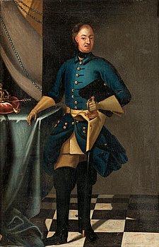 """227. DAVID VON KRAFFT, """"Konung Karl XII"""" (1682-1718)."""