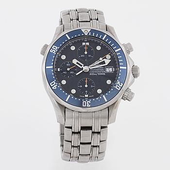 OMEGA, Seamaster Professional (300m/1000ft), armbandsur, 42 mm, kronograf.