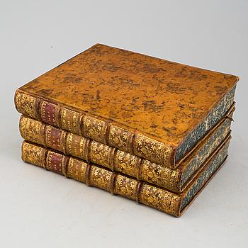 """BOK, Joseph De Guignes: """"Histoire générale des Hun"""", Paris, 3 vol, 1756."""