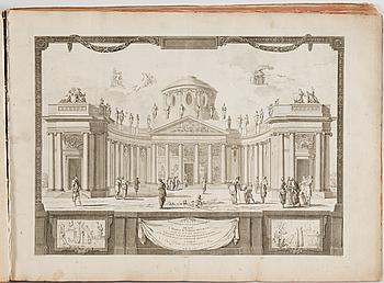 """ATLAS, Buy de Mornas, Atlas historique et géographique, """"2e partie"""" Paris 1762."""
