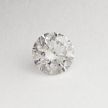 904. A brilliant cut diamond, 1.51 cts, E-F/VS according to IGI certtificate.
