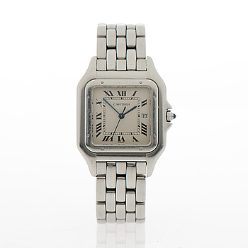 CARTIER, Panthere, wrist watch, 30 x 30 mm.