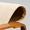 Alvar aalto, fÅtÖlj. tillverkad av oy huonekaluja rakennustehdas ab år 1932.