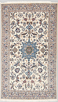 MATTA, Nain, part silk, 9 LAA nyproducerad, ca 211 x 124 cm.