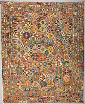 KELIM, Uzbekistan, ca 392 x 321 cm.