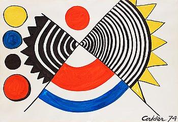 """248. Alexander Calder, """"Rose des sables""""."""