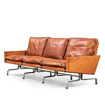 43. POUL KJAERHOLM, soffa 'PK-31-3', E Kold Christensen, Danmark 1960-tal.