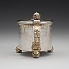 A swedish 17th century parcel-gilt tankard, mark of anders andersson amour, stockholm (1684-1692) before 1689.