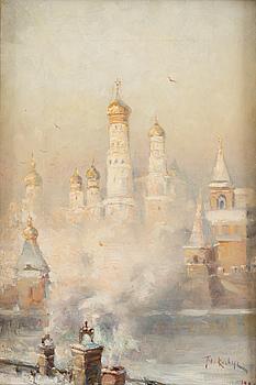 JULIUS VON KLEVER, TALVI 1911, MOSKOVA.
