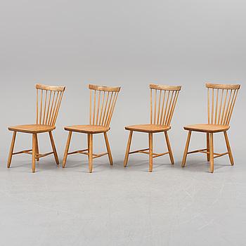 "CARL MALMSTEN, stolar, 4 st, ""Lilla Åland""."