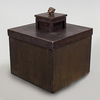 LISS ERIKSSON, skulptur, brons. Signerad och numrerad I/V. Gjutarstämplar fonderi Godard Paris.