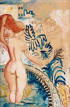 """242. ISAAC GRÜNEWALD, """"Susanna i badet""""."""