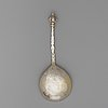A swedish early 17th century silver-gilt spoon, unmarked.