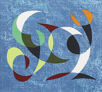 PIERRE OLOFSSON, färgserigrafi, signerad och numrerad 97/160.