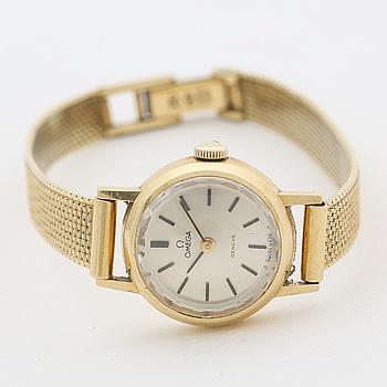 OMEGA, Genève, armbandsur, 18 mm,