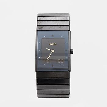 RADO, Ceramica Multi, wristwatch, 28 x 33 mm,