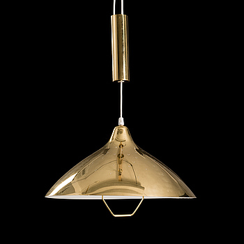 A pendant light manufactured by Orno in the 1950s.