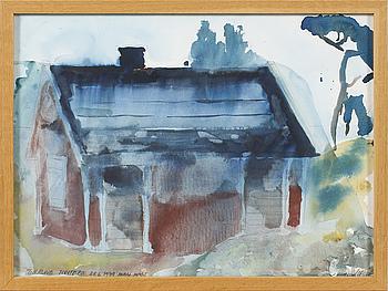 HANS WIGERT, akvarell, signerad och daterad 1979.