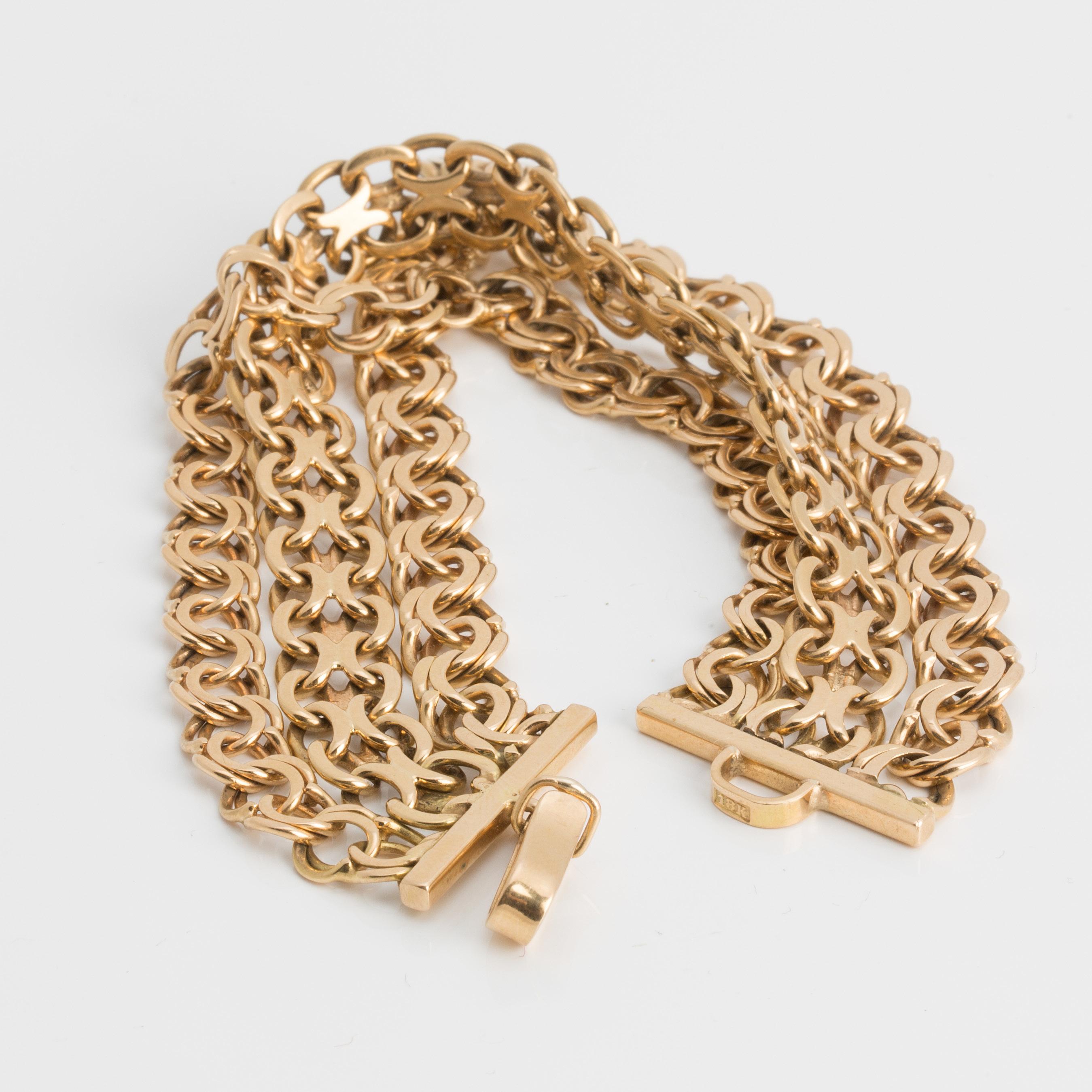 Bracelet in 18K gold. - Bukowskis ca287e38a8384