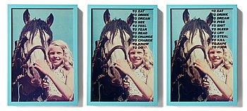"131. Lotta Antonsson, ""Ponny, 1990""."