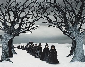 "122. Helena Blomqvist, ""Mourning Procession"", 2008."