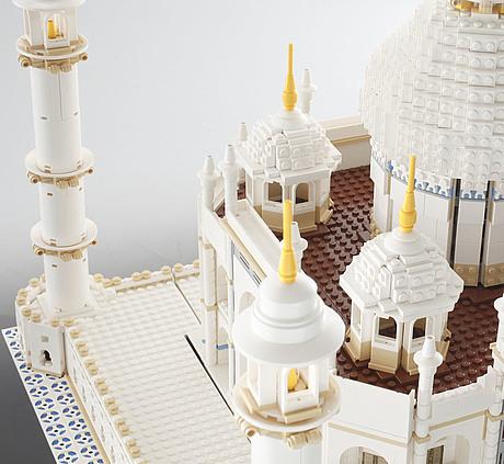 Lego Set Taj Mahal No 10189 With Box And Instructions Denmark