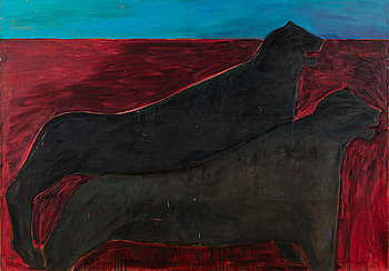"LEENA LUOSTARINEN, ""RED DESERT""."