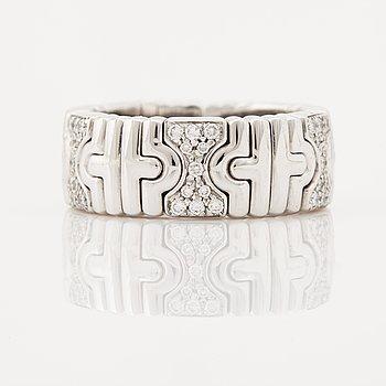 800. A brilliant cut diamond ring by Bulgari.