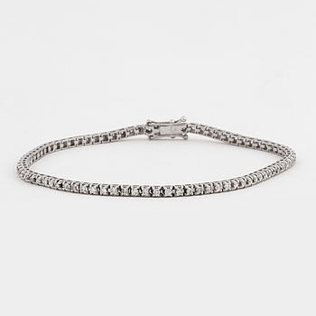 ARMBAND, med briljantslipade diamanter ca 1.15 ct.