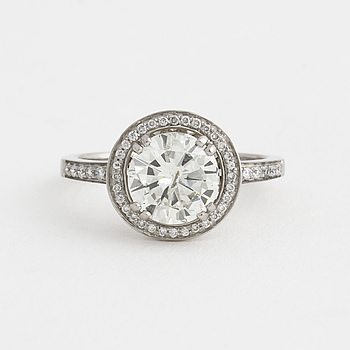RING, med briljantslipade diamant ca 2,00 ct.