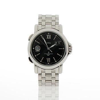 ULYSSE NARDIN, GMT Big date, armbandsur, 40 mm.