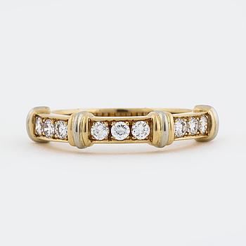 RING, Cartier, med briljantslipade diamanter.