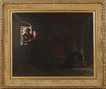 JOHNNY MILLAR, kopia efter Georg von Rosen, olja på duk, signerad, otydligt daterad.