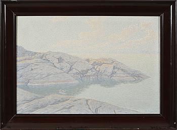 JOHAN JANSSON, olja på duk, signerad och daterad 1915.
