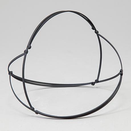 Lars englund, skulptur signerad och numrerad på certifikat