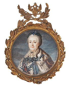100. Alexander Roslin After, Catherine II, also known as Catherine the Great (1729 - 1796).