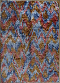 """MATTA, Indien/Tibet, """"bambusilke"""", 296 x 216 cm."""