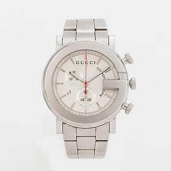GUCCI, Chronoscope, kronograf, armbandsur, 44 mm,