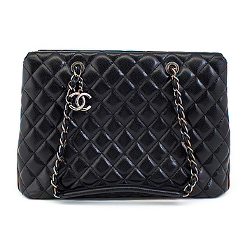 """A """"Grand Shopping Tote"""" by Chanel 2015/2016."""