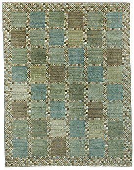 "202. Barbro Nilsson, A CARPET, ""Gröningen"", knotted pile, ca 285,5 x 217 cm, signed AB MMF BN."