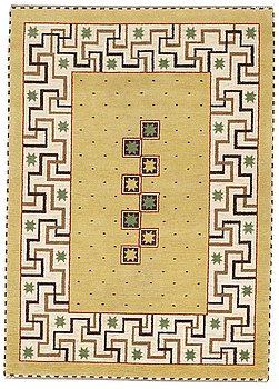 "199. Märta Måås-Fjetterström, A CARPET, ""Il Greco"", knotted pile, ca 246 x 172 cm, signed AB MMF."