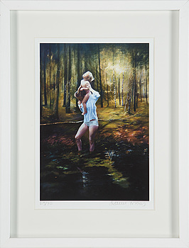 KARIN BROOS, a giclée print signed and numbered 63/90.