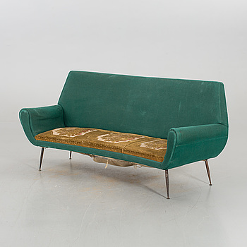 A mid 20th century Gigi Radicale couch, Minotti, Italy.