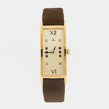 YEMA, armbandsur, 19 x 37,5 mm,