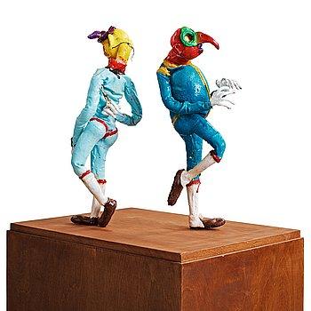 "43. NATHALIE DJURBERG, Skulpturer ur ""I Wasn't Made to Play the Son"", 2011."